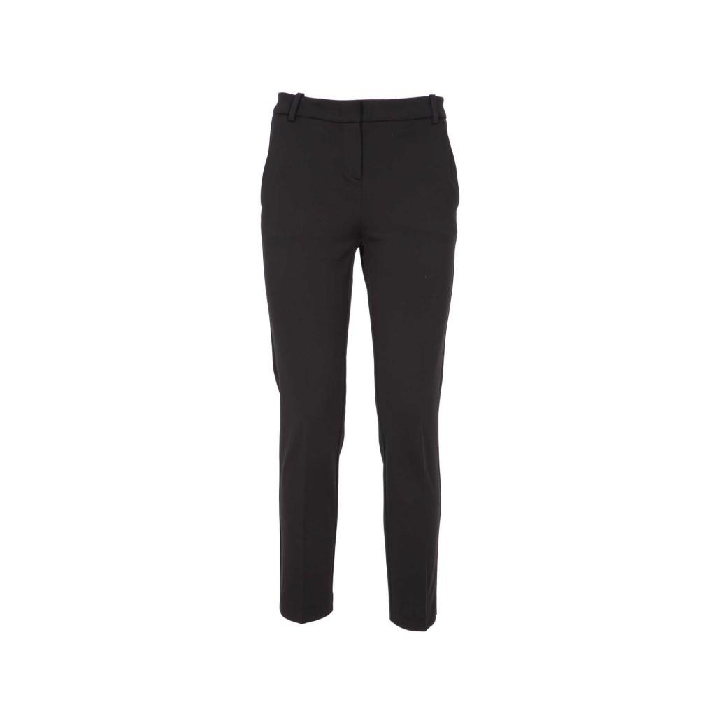PINKO - Pantaloni in viscosa tecnica cigarette-fit Z99BLACK - Abbig ... 046228c9c72