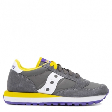 Sneakers Jazz Original tortora e gialle CHARCOAL/YEL