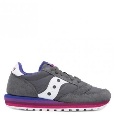 10fe599a5f Saucony Originals - Sneakers Jazz Originals nere con inserti in pel ...