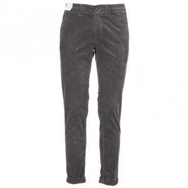 Pantalone Mucha cropped 5403GRIGIO