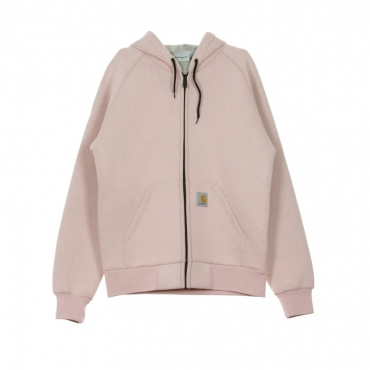 GIUBBOTTO CAR-LUX HOODED JACKET SOFT ROSE HEATHER