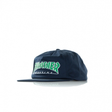 CAPPELLO SNAPBACK OUTLINED SNAPBACK NAVY