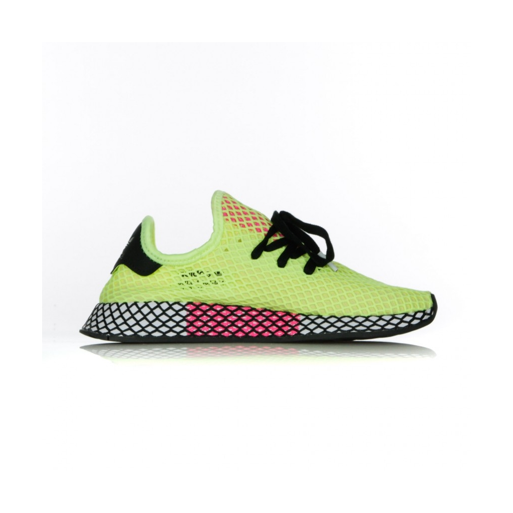 check out e12db b1e22 SCARPA BASSA DEERUPT RUNNER HI-RES YELLOWCORE BLACKSHOCK PINK