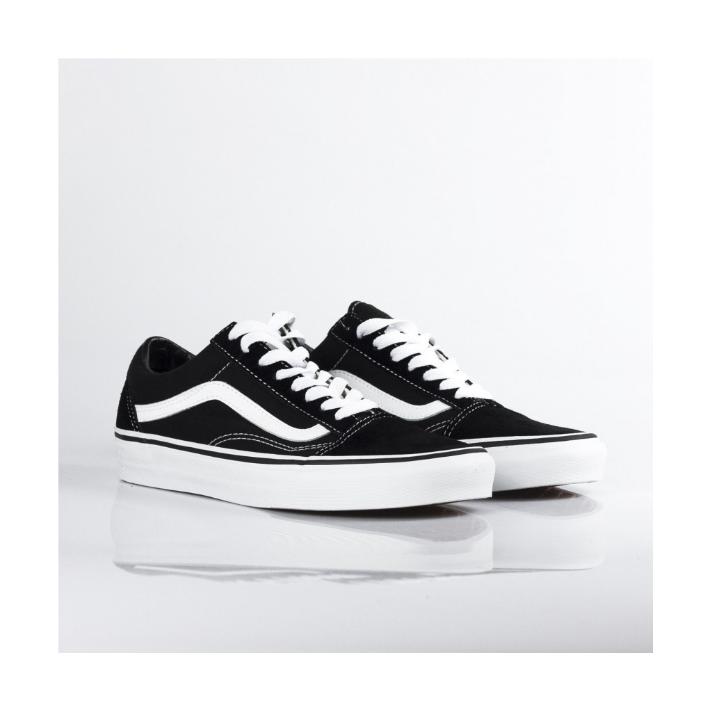 LOW SHOE OLD SKOOL BLACK / WHITE