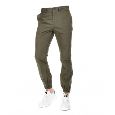 Pantaloni Chino Torbido Oliv