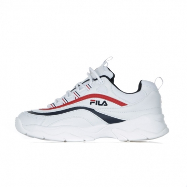 SCARPA BASSA RAY LOW WMN WHITE/FILA NAVY/FILA RED