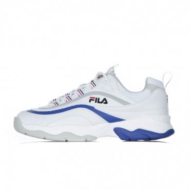 SCARPA BASSA RAY F LOW WHITE/ELECTRIC BLUE/GREY VIOLET