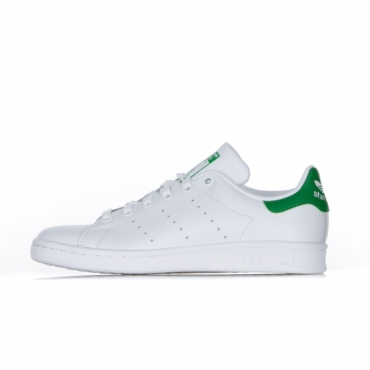 SCARPA BASSA STAN SMITH WHITE/WHITE/GREEN