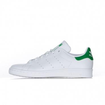 SCARPA BASSA STAN SMITH WHITE/WHITE/GREEN