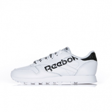 SCARPA BASSA CL LTHR WHITE/BLACK