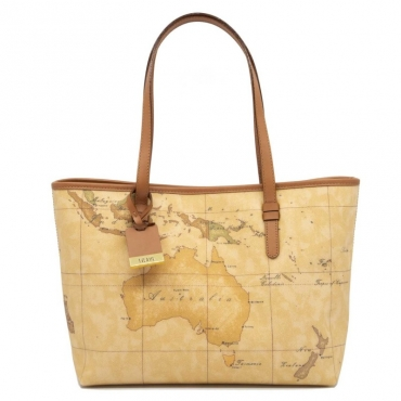 Shopping bag media con stampa Geo UNICO