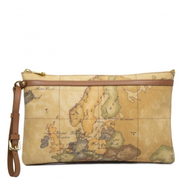 Clutch Contemporary con stampa Geo Classic UNICO