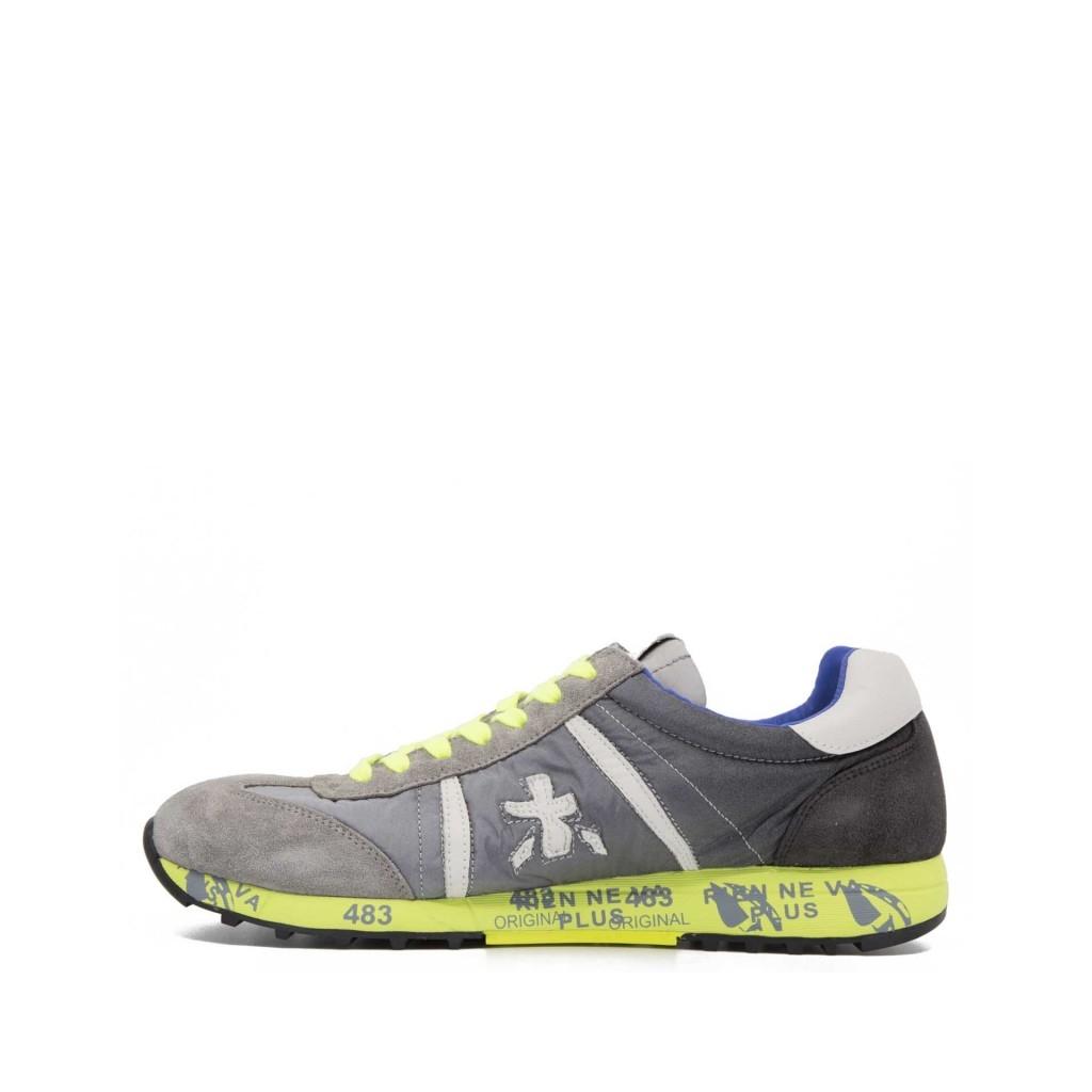 PREMIATA Sneakers Lucy 1313 in camoscio grigio 1313E Sneakers |