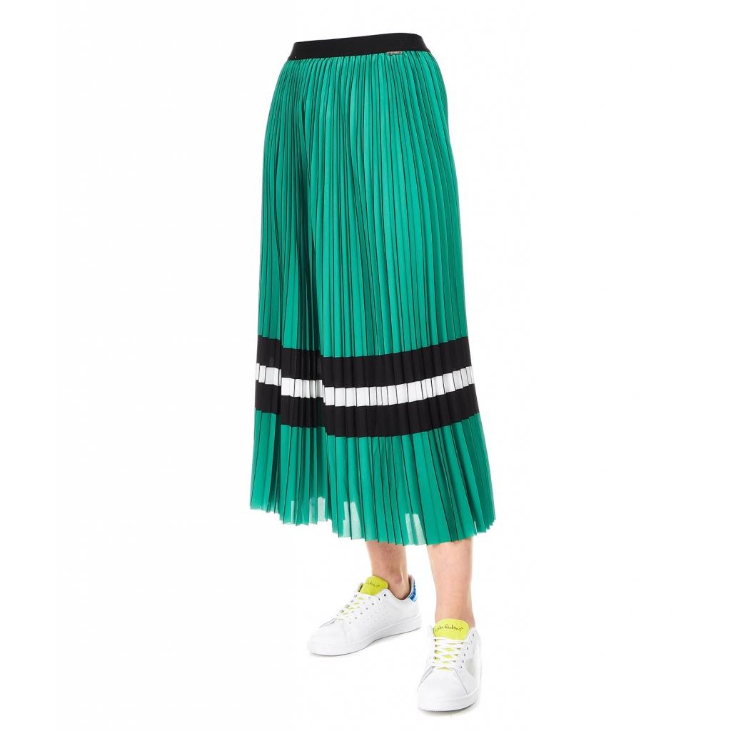 fff52f532717 Savina Green pleated skirt | Bowdoo.com