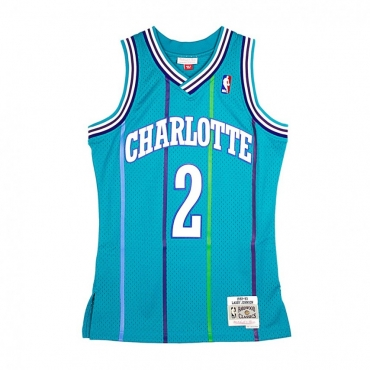 CANOTTA SWINGMAN JERSEY LARRY JOHNSON NO2 CHAHOR TEAL/PURPLE