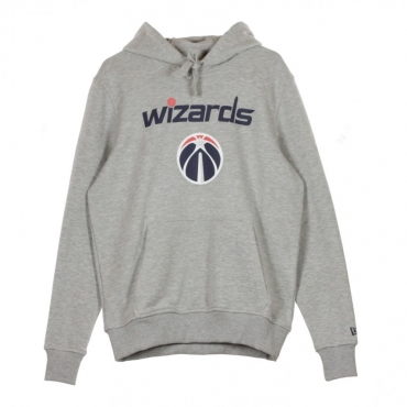 FELPA CAPPUCCIO TEAM LOGO PO HOODY WASWIZ LIGHT GREY HEATHER
