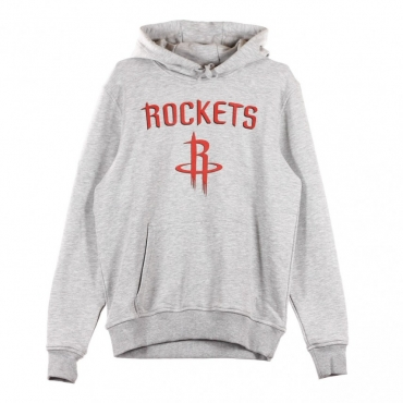 FELPA CAPPUCCIO TEAM LOGO PO HOODY HOUROC LIGHT GREY HEATHER