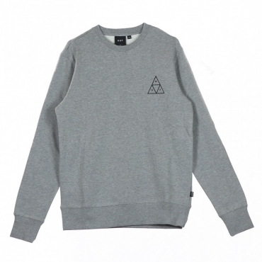 FELPA GIROCOLLO ESSENTIALS TT CREW GREY HEATHER