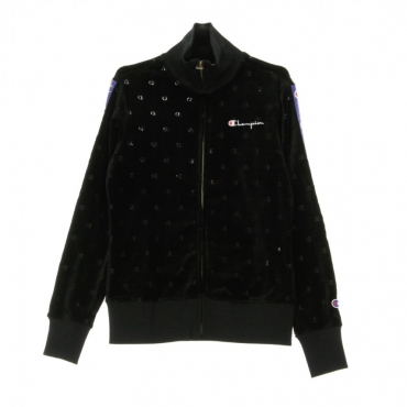 TRACKTOP FULL ZIP SWEATSHIRT BLACK