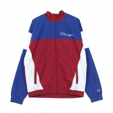 TRACK JACKET FULL ZIP TOP RED/BLUE/WHITE