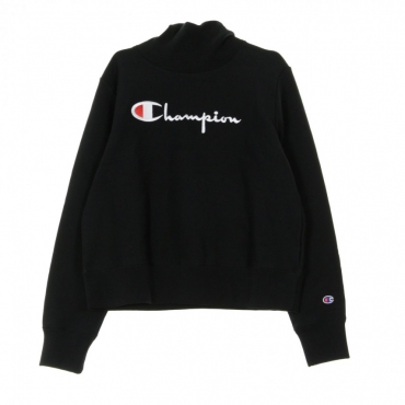 FELPA GIROCOLLO TURTLE NECK L/S SWEATSHIRT BLACK