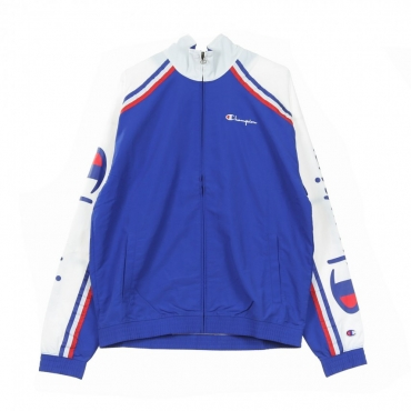TRACK JACKET TRACK TOP FULL ZIP BLUE/WHITE