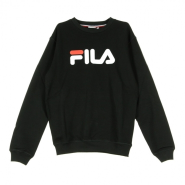 FELPA GIROCOLLO PURE CREW SWEAT BLACK