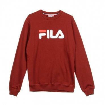 FELPA GIROCOLLO PURE CREW SWEAT MERLOT