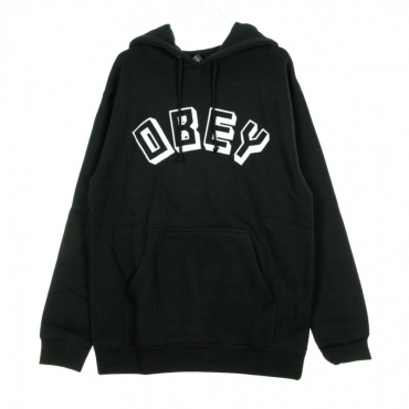 FELPA CAPPUCCIO OBEY NEW WORLD BLACK