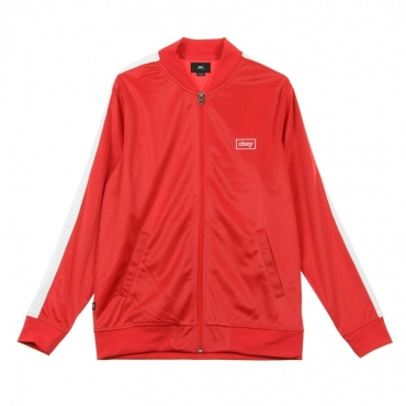 TRACK JACKET BORSTAL HOT RED