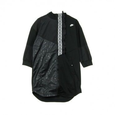 TRACKTOP TAPED FZ TRACK POLY BLACK/WHITE