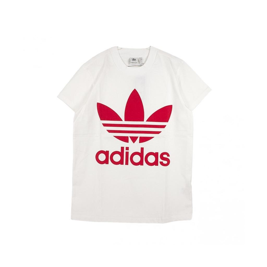 abca47bf911e ADIDAS - MAGLIETTA BIG TREFOIL TEE WHITE/RADIANT RED - T-shirt |Bow ...