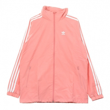 WINDBREAKER STADIUM JKT TACTILE ROSE/WHITE