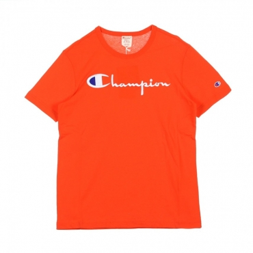 MAGLIETTA CREWNECK TEE ORANGE
