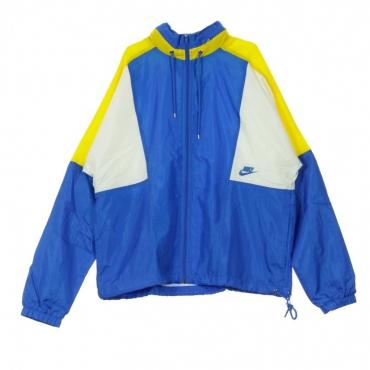 WINDBREAKER RE-ISSUE JKT WVN SIGNAL BLUE/AMARILLO/SAIL/SIGNAL BLUE