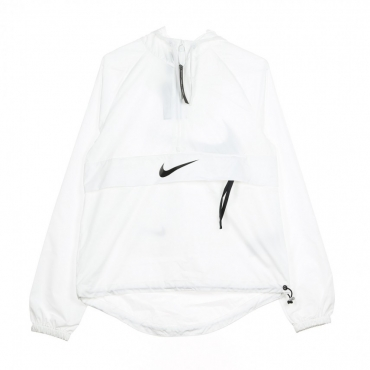 WINDBREAKER SWSH JKT PACKABLE WHITE/BLACK