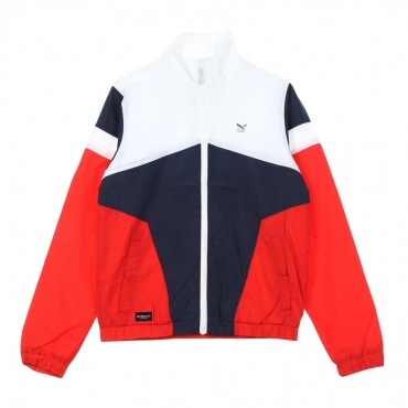 WINDBREAKER GETTY JACKET NAVY/RED