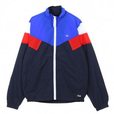 GIUBBOTTO GET DOWN JACKET NAVY RED