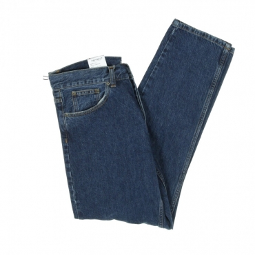 JEANS NEWEL PANT BLUE DARK STONE WASHED