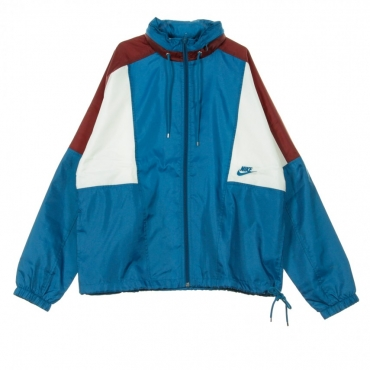 WINDBREAKER RE-ISSUE JKT WVN GREEN ABYSS/TEAM RED/SAIL