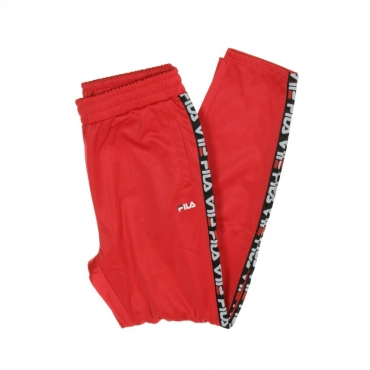PANTALONE TUTA TAPE TRACK PANTS TRUE RED