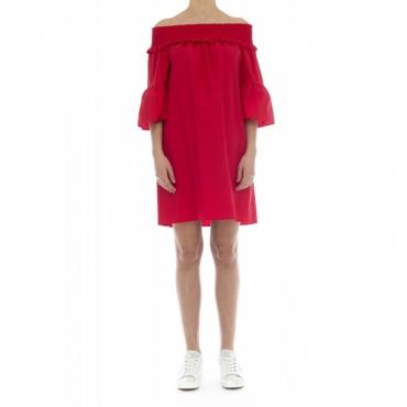 Vestito - Noelle vestito spalla scesa 10071 - Red