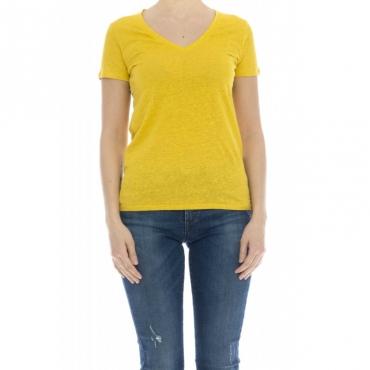 Camicia donna - J011 fts164 lino 507 - Topaze