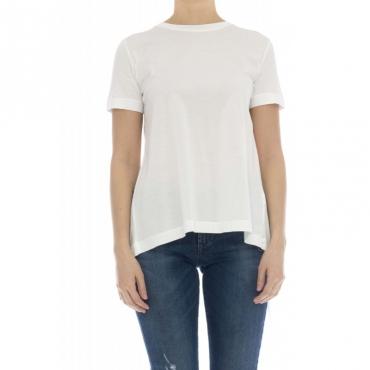 T-shirt donna - J8013/u t-shirt jersey 001 - bianco