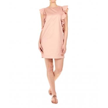 Mini abito in cotone Rose