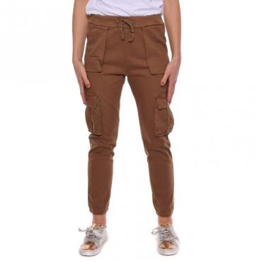 Pantalone tasconato TABACCO