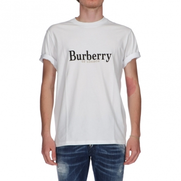 T-shirt Lopori Burberry Bianco