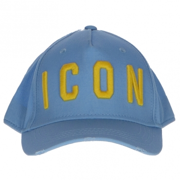 Cappello ICON Dsquared2 Azzurro