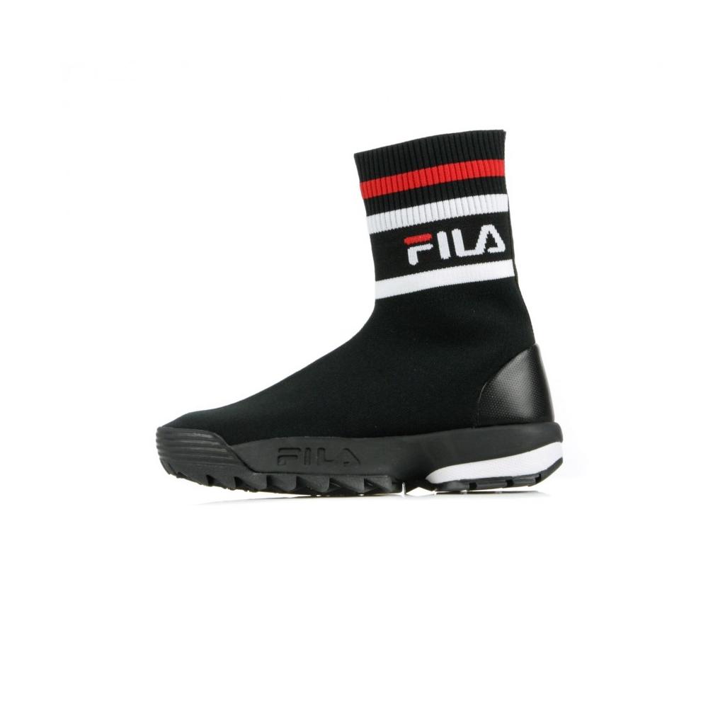 Fila - STIVALE DISRUPTOR LOGO SOCKBOOT WMN BLACK/BLACK - Stivali e ...
