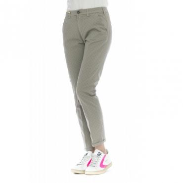 Pantalone donna - Briana 4264 microfantasia W075 - Grigio